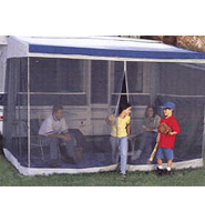 RV Awning Shade Kit RV Awning Screen Room Complete Kit 8' x 13