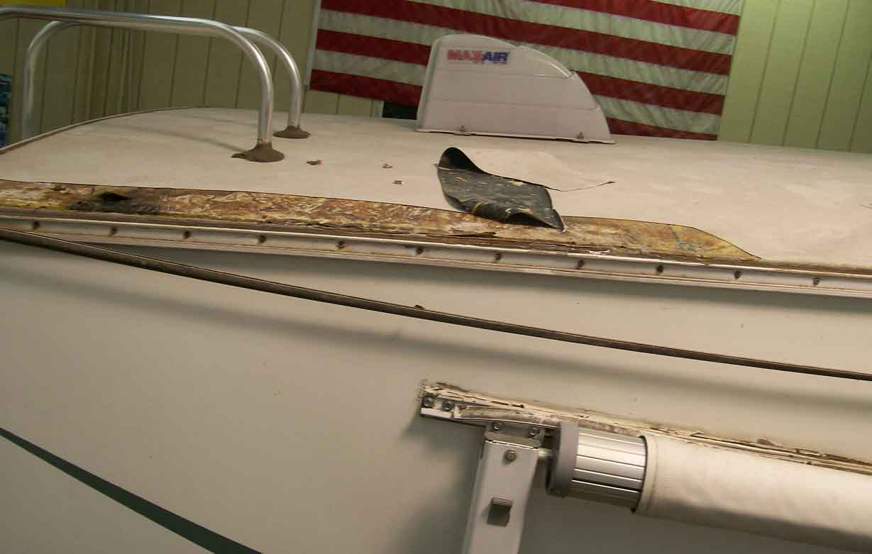 Replacement Rubber Roof For Camper 74